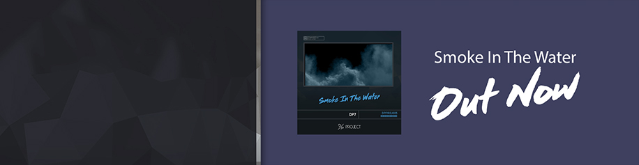 smoke in the water banner